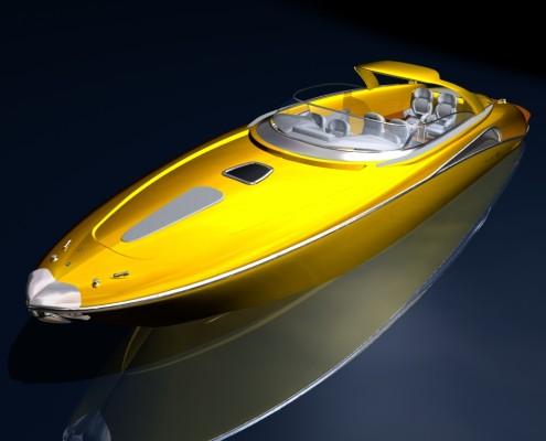 Cavalla concours yellow