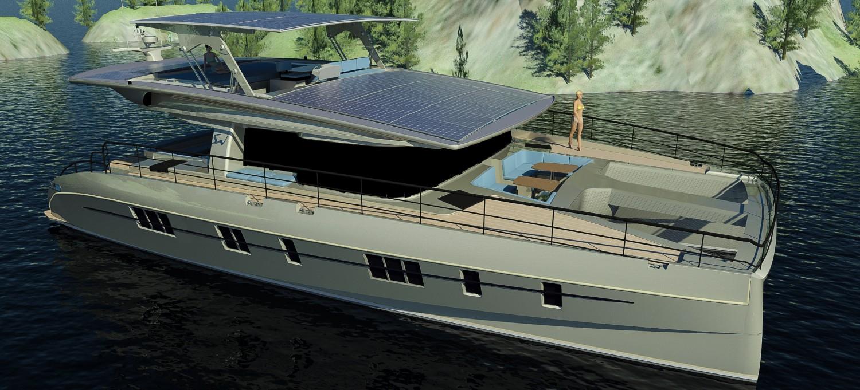 Solarcat 64 Luxury Zero Emission Yacht Nedshipgroup