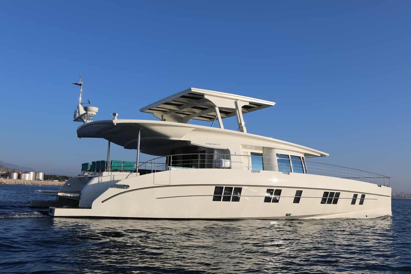 Serenity 64′ Luxury Zero Emission Yacht – Nedshipgroup